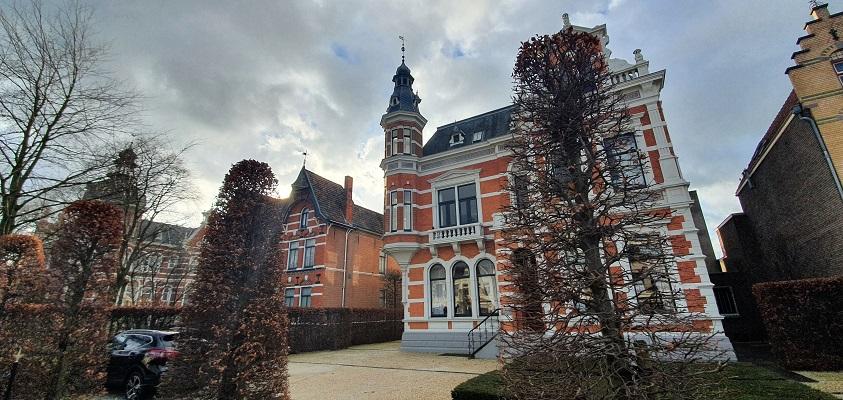 Historische wandeling Oss bij Fabrikanten villas's