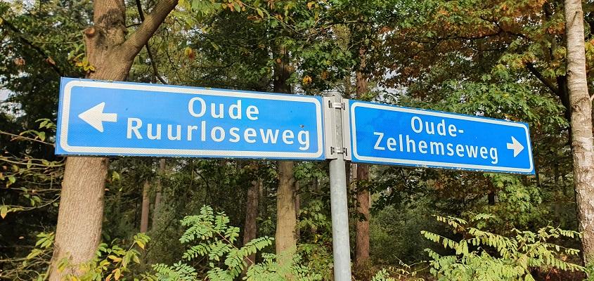 Wandeling van Doetinchem naar Ruurlo over het Achterhoekpad bij de oud spoortrac