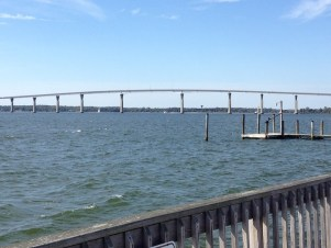 View of bridge in Southern Maryland.