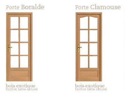AMC Fenêtres : Portes Intérieures Bois Exotique Gamme Classic