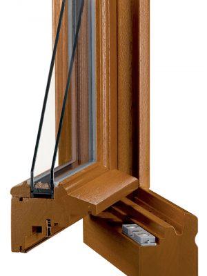 AMC Fenêtres : fenêtre BOIS TB67 TB67M