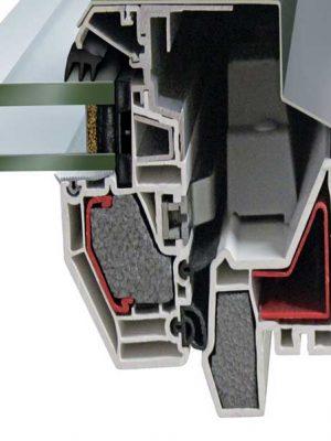 AMC Fenêtres : fenêtres (velux) PVC FT84