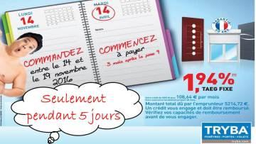 TRYBA Saint Quentin : offre spéciale