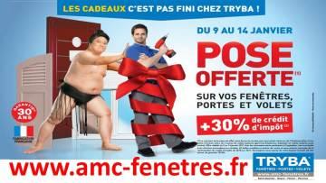 janvier 2017 : la pose est offerte