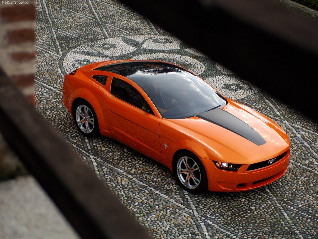2006 Mustang Concept By Giugiaro
