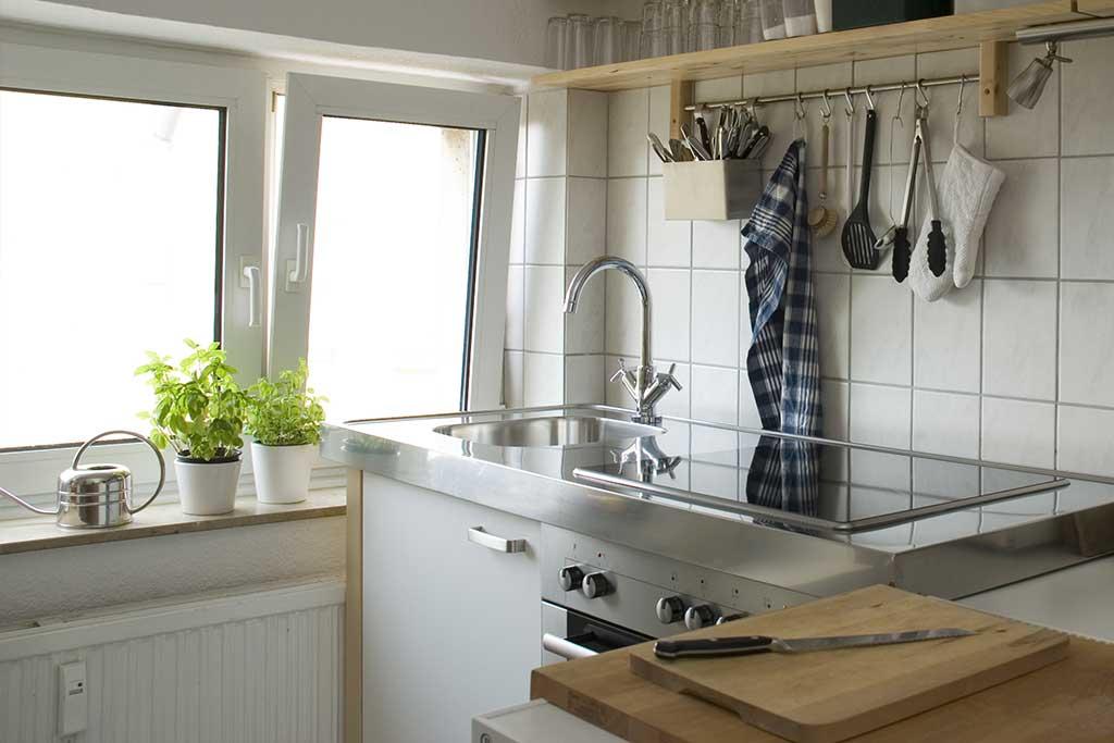 installer dans la cuisine