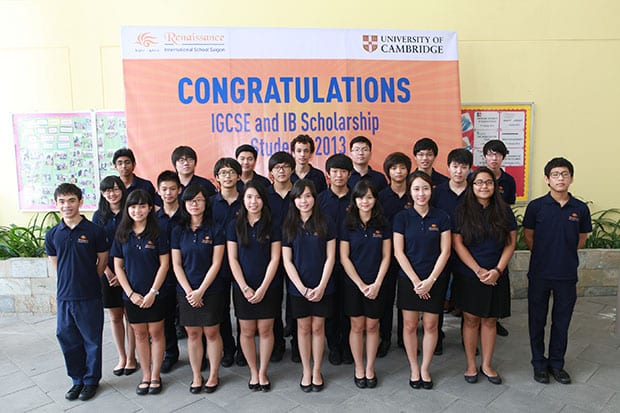 Renaissance Students Achieve High Results in IGCSE 1