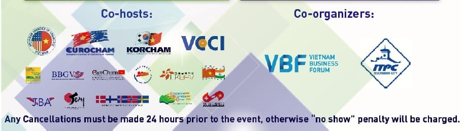 VBF in HCM City, Mar 25, 2014 • Co-hosts and co-organizers