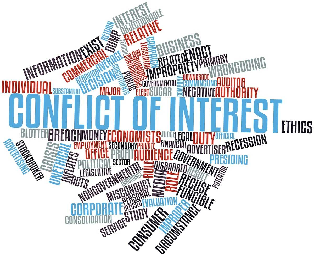 Conflict Of Interest Policy Example