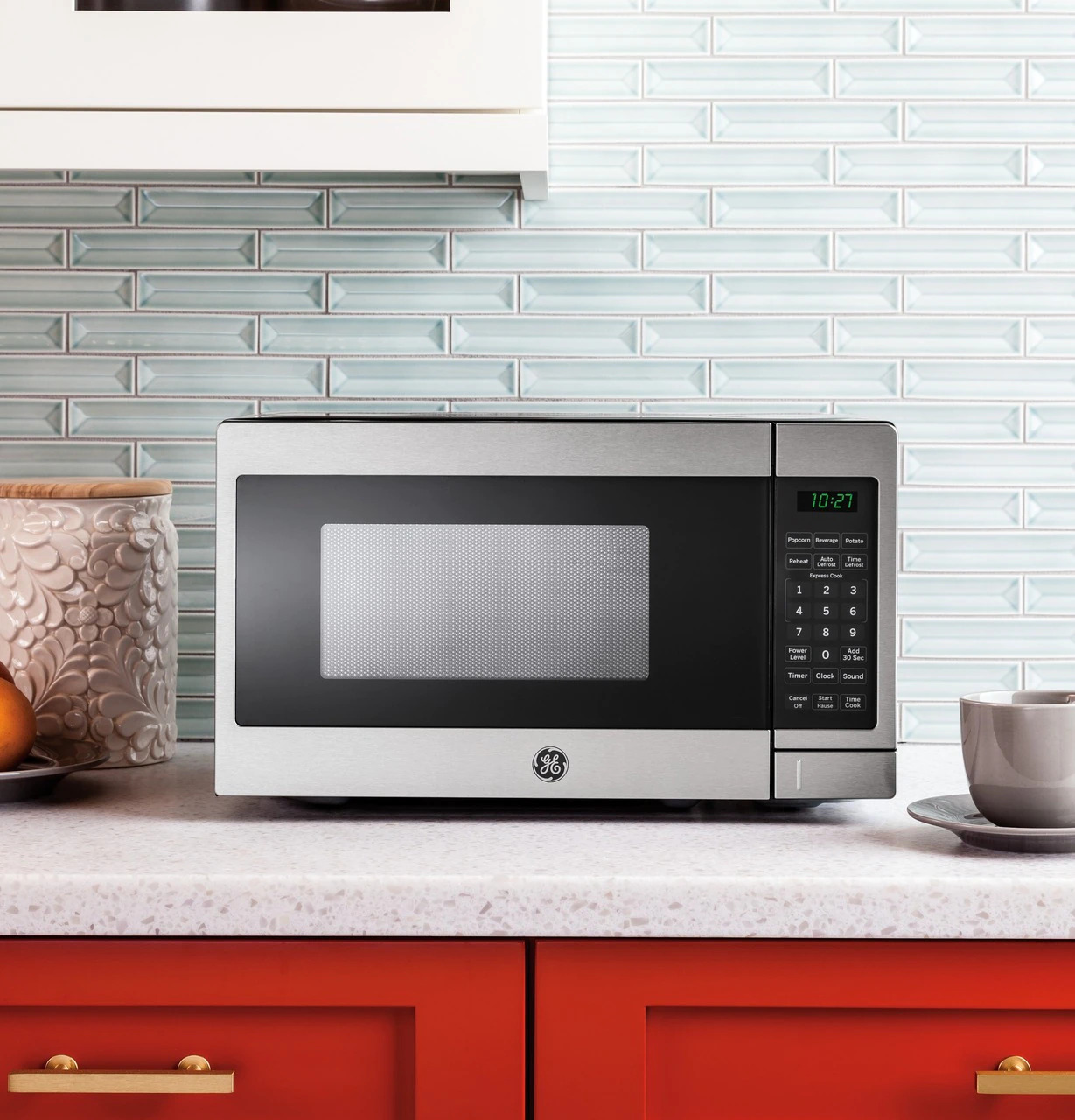 general electric 0 7 cu ft microwave oven