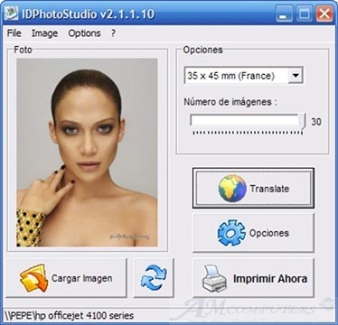 Creare fototessere per documenti con PC e stampante
