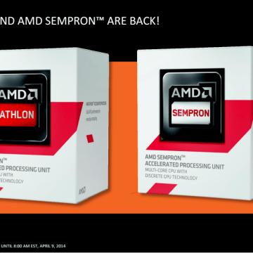 athlon and sempron 1