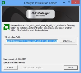 install driver catalyst1