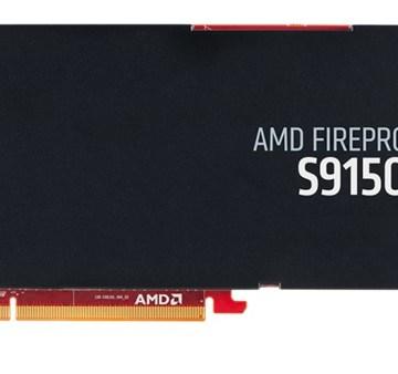 AMD FirePro S9150 side view