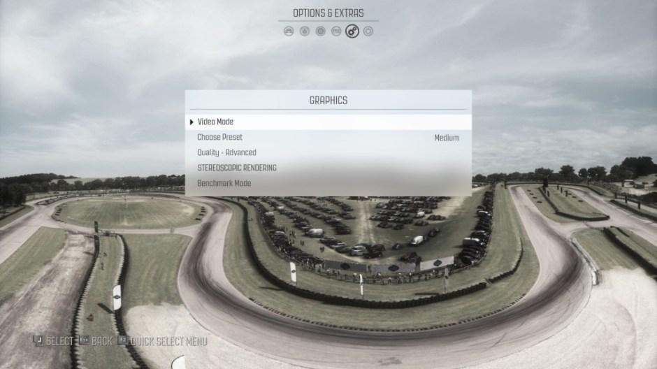 Dirt Rally Resolusi Quad HD Asus N551ZU Set Medium