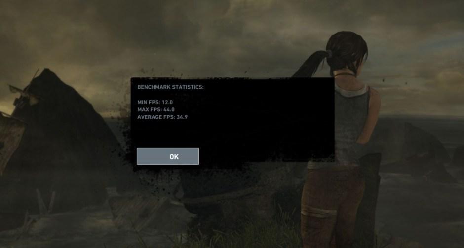 Tomb Raider Resolusi Full HD Asus N551ZU Set High