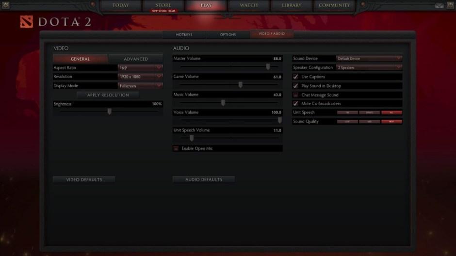 Dota 2 Resolusi Full HD Asus N551ZU