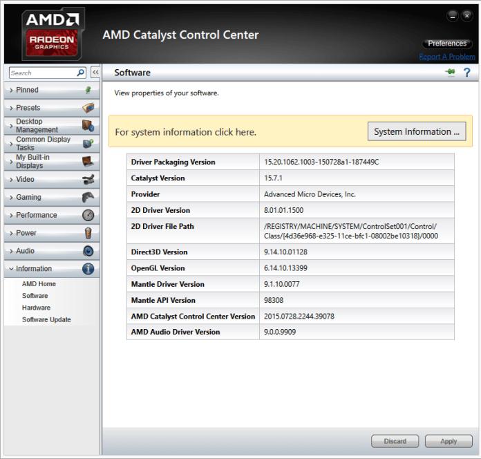 AMD Catalyst 15.7.1
