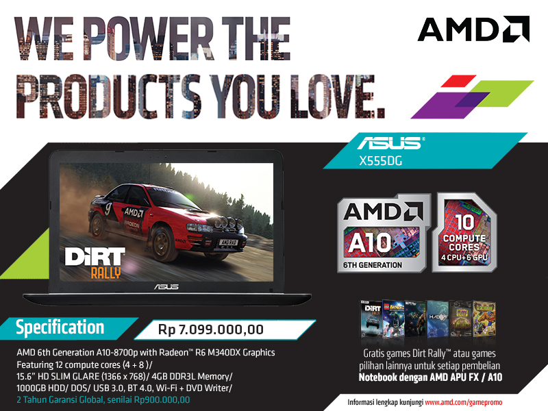 Asus X555DG
