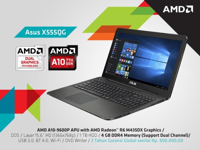 Asus X555QG
