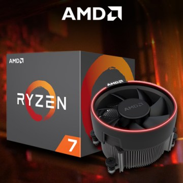 Ryzen 7 Wraith Cooler