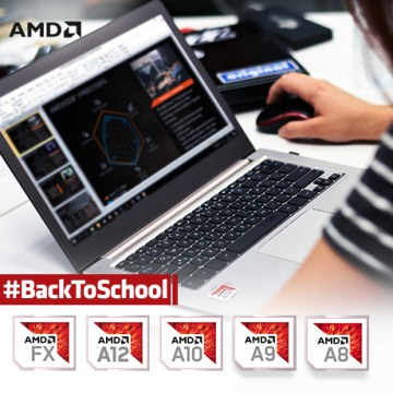 Back to School AMD Notebook