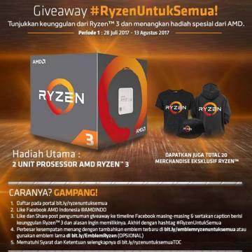 Giveaway Ryzen Untuk Semua