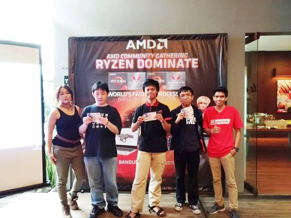Ryzen Dominate Bandung