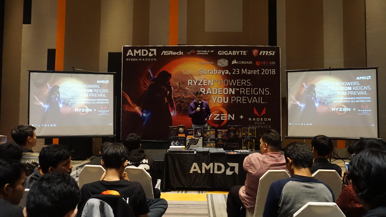 Acara Peluncuran APU Desktop Ryzen Vega