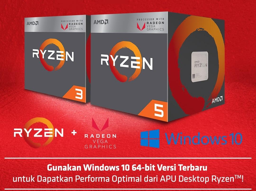 Tips Membangun PC Ryzen APU