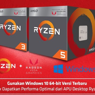 Tips Membangun PC Ryzen APU