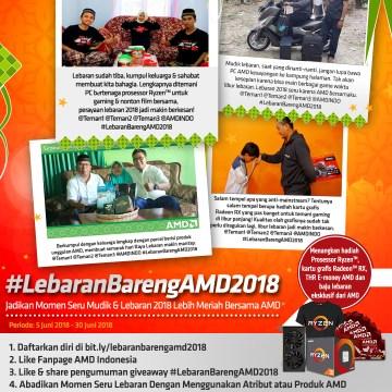 Lebaran Bareng AMD 2018