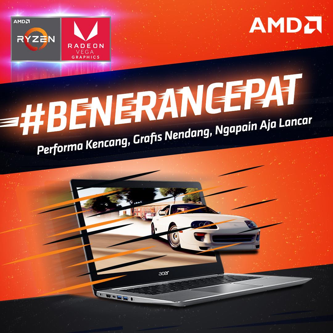 Contoh poster #BeneranCepat