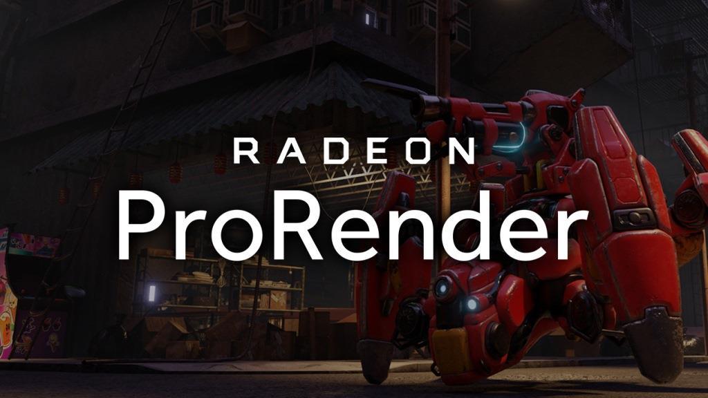Radeon Pro Render