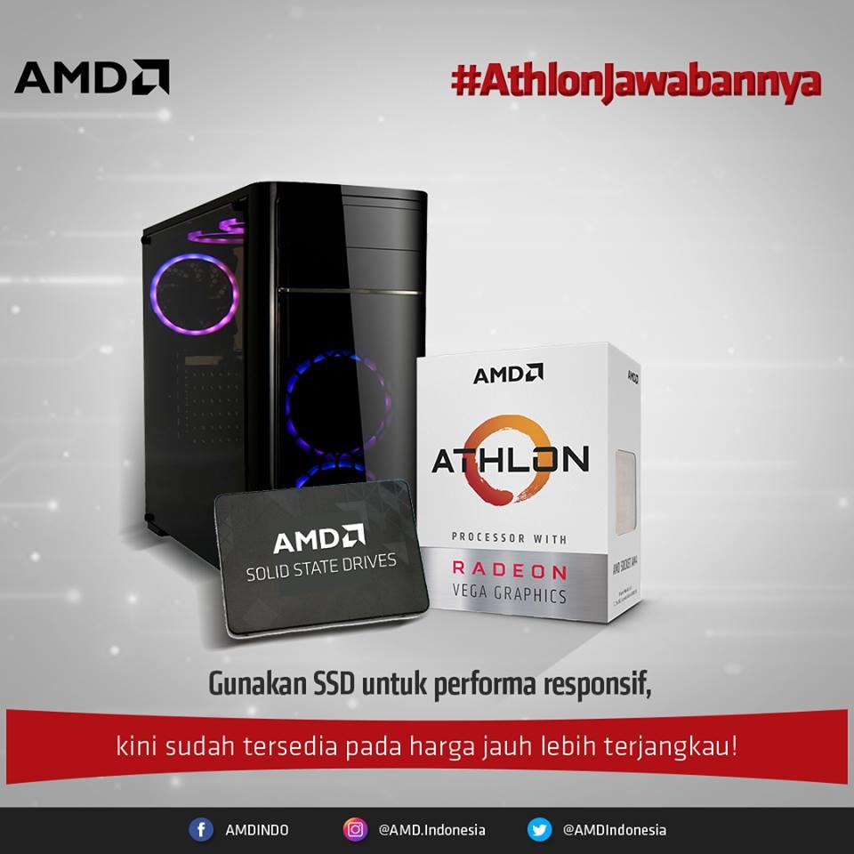 gunakan ssd pada PC athlon