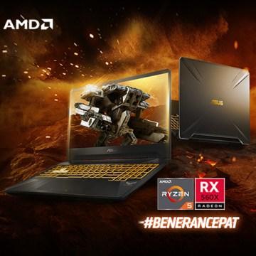 ASUS TUF Gaming FX505DY Rajanya Laptop Gaming yang Dipersenjatai AMD Ryzen H-Series dan Radeon FreeSync, Hanya 11 Jutaan!