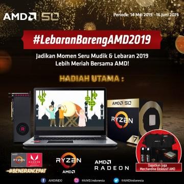 Giveaway Lebaran Bareng AMD 2019