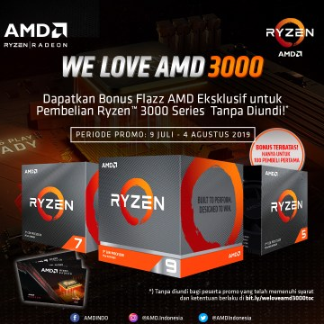 We Love AMD 3000