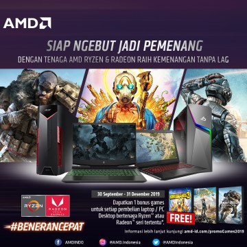 Promo Klaim Game PC Laptop