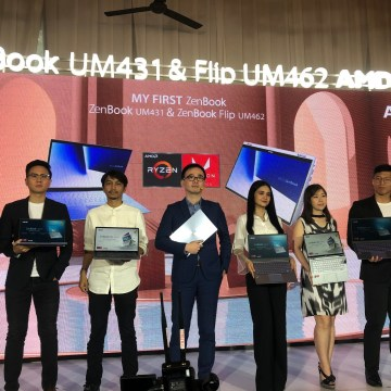 Launching ASUS Zenbook