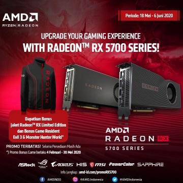 Promo Radeon™ RX 5700 Series Bonus Jaket