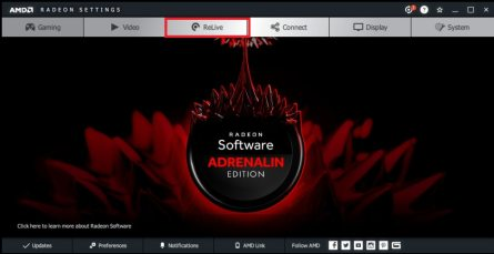 How to Install and Enable Radeon ReLive | AMD