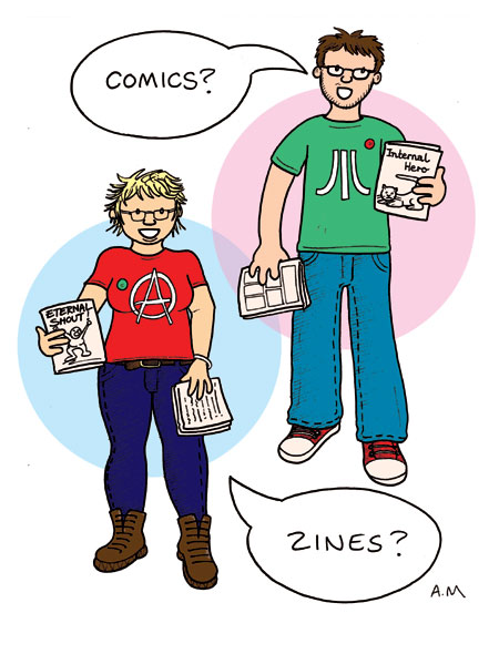 comics and zines