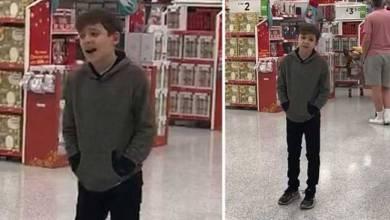 Photo of Αγόρι με αυτισμό τραγουδάει σε σούπερ μάρκετ και εκπλήσσει τους πάντες