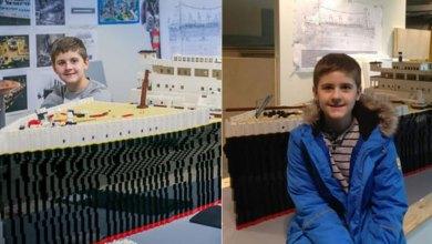 Photo of Ο μικρός καλλιτέχνης με αυτισμό που δημιούργησε τον Τιτανικό από… τουβλάκια Lego