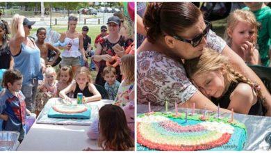 Photo of 150 άγνωστοι άνθρωποι πήγαν στα γενέθλια αυτιστικού κoριτσιού όταν κάλεσε 15 φίλους της και εμφανίστηκαν μόνο δύο!!