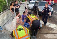 Photo of Νοσοκόμα με το.. νυφικό βγήκε από το γαμήλιο αμάξι για να βοηθήσει τραυματία σε τροχαίο