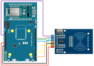Ameba Arduino: [RTL8195] [RTL8710] RFID – Using RFID RC522 module as RFID Reader – Realtek IoT