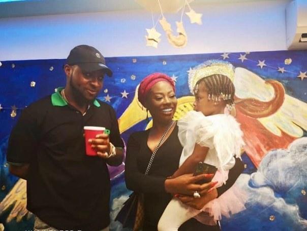 Davido And Sophia Momodu Attend Daughter Imade Adeleke School Christmas Concert