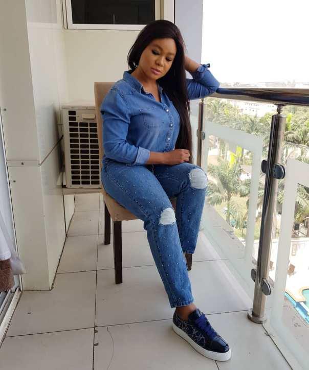 Denim Rocking Rachael Okonkwo Says God Has The Final Say